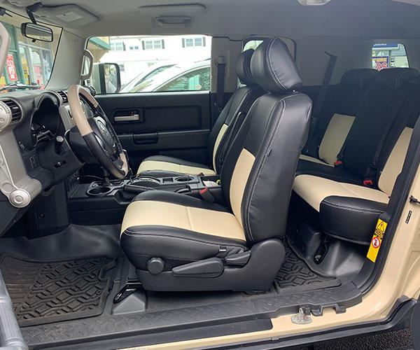 Shore Custom Katzkin Leather Seats